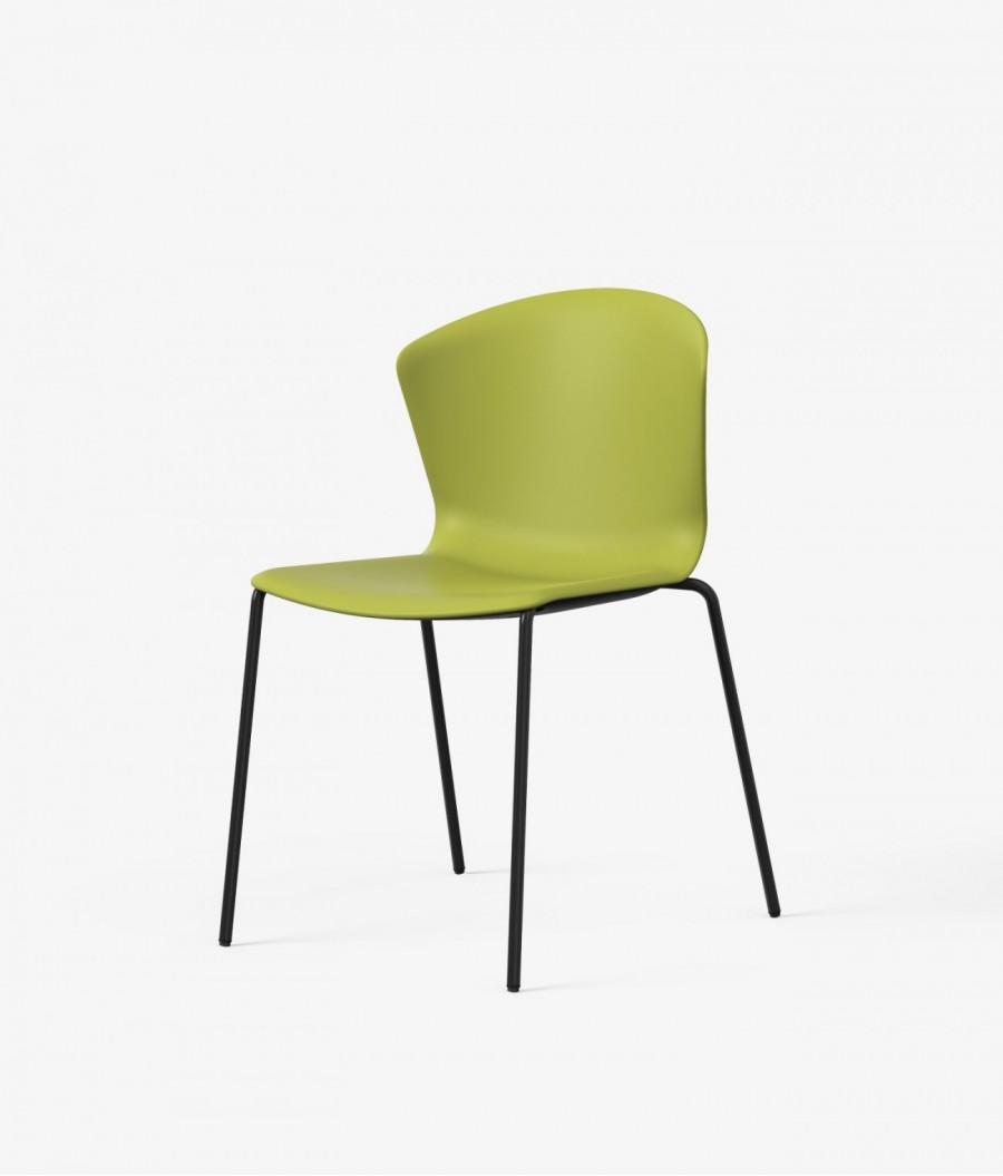 silla auxiliar whass verde perspectiva