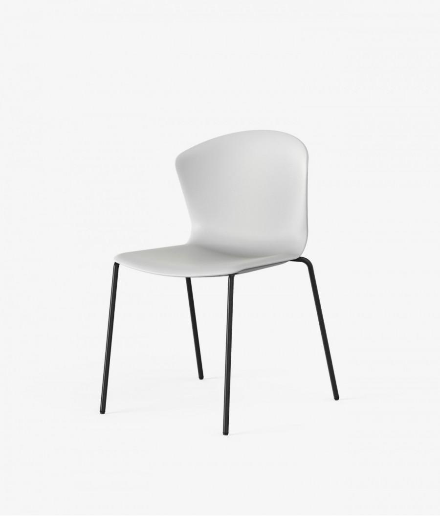 silla auxiliar whass blanca perspectiva