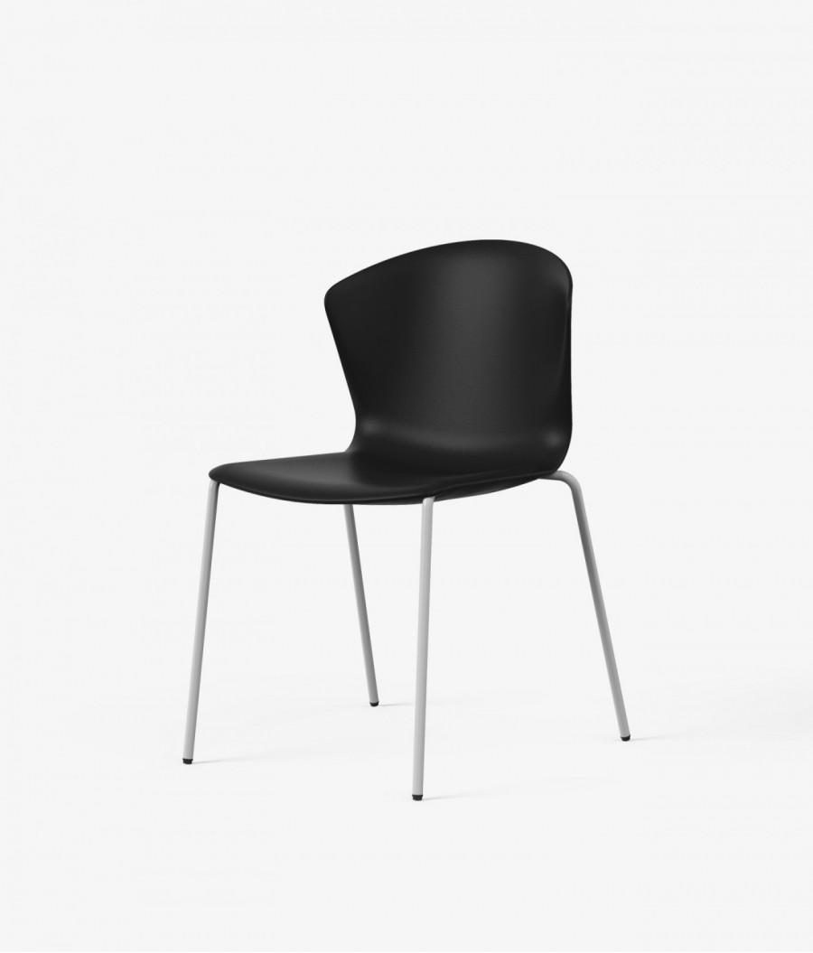 silla auxiliar whass negra perspectiva