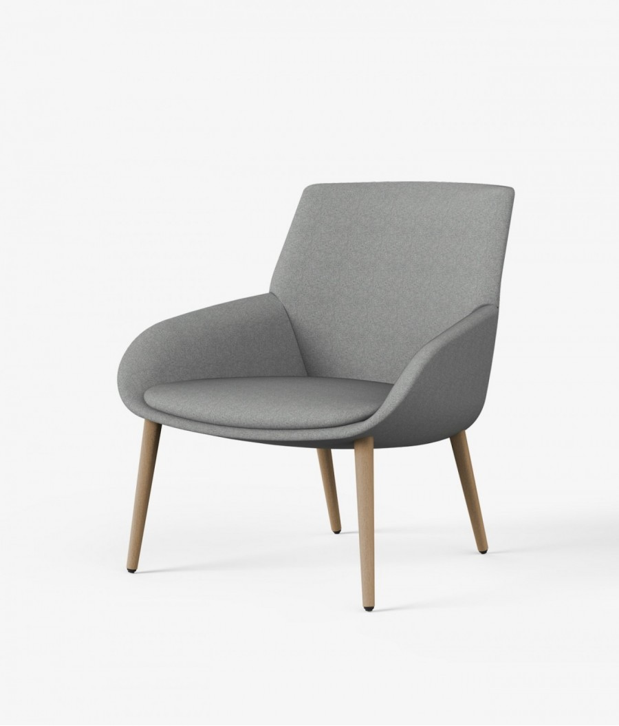 sillon gris noom perspectiva