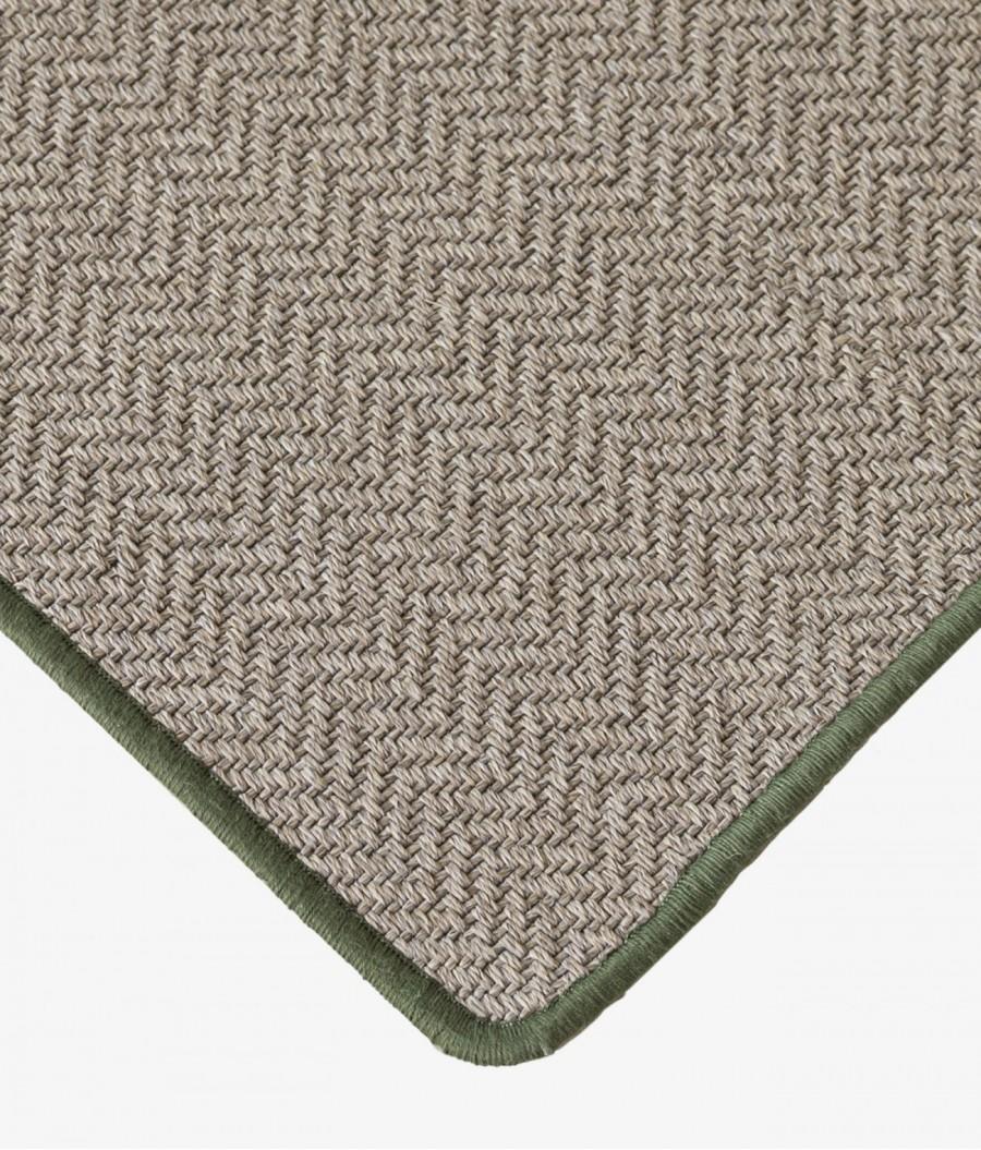alfombra plastico reciclado verde